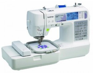 Brother SE400 Computerized Embroidery & Sewing Machine