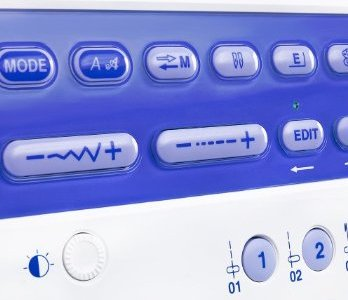 Janome Memory Craft 6500P buttons
